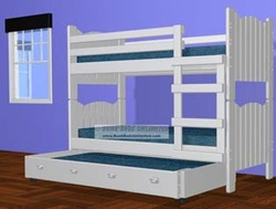 Picket Fence Bunk Bed